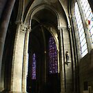 Chartres Cathedral, interior view by BronReid