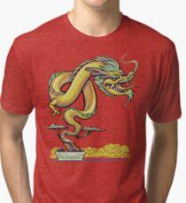 Bonsai Dragon Tri-blend T-Shirt