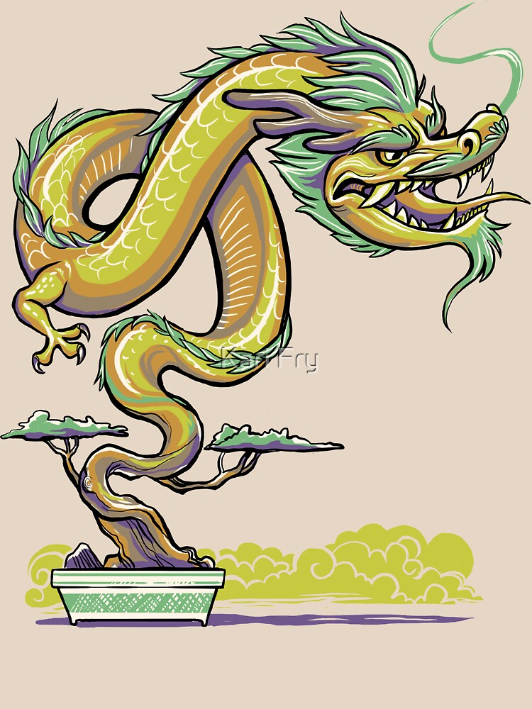 Bonsai Dragon by misskari