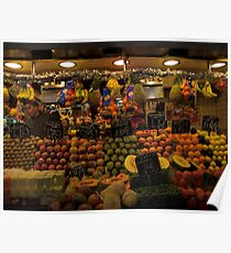 Fruit Stand Poster