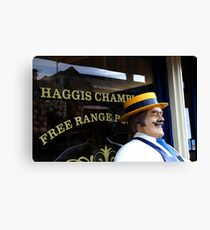 Haggis Champion Canvas Print