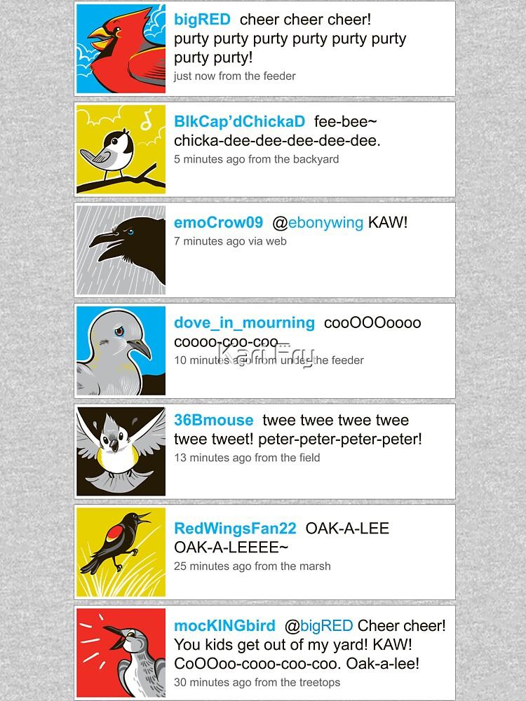 Birds' tweets by misskari