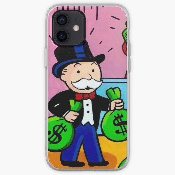 $ Monopoly Man $ Funda blanda para iPhone