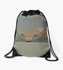 Downtown Greenville SC Drawstring Bag