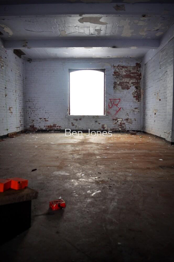 Derelict window by Ben Jones