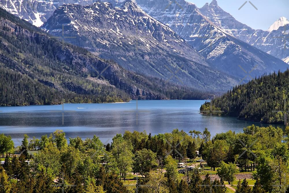 Waterton Lakeside Campground by Vickie Emms