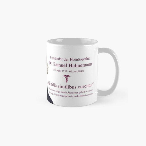Samuel Hahnemann - Begründer der Homöopathie (Ähnlichkeitsprinzip) Tasse (Standard)