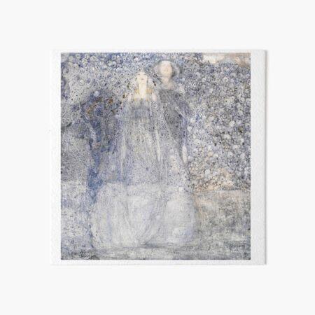 The Silver Apples of the Moon. 1912. Margaret Macdonald Mackintosh. Glasgow Style. Glasgow School. Art Board Print