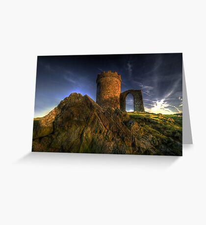 Old John Mug Tower 2.0 Greeting Card