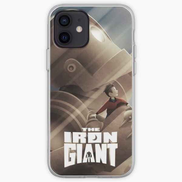 The iron giant iPhone Soft Case