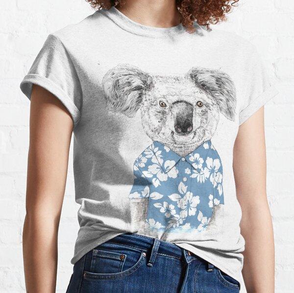 Summer koala (blue) Classic T-Shirt