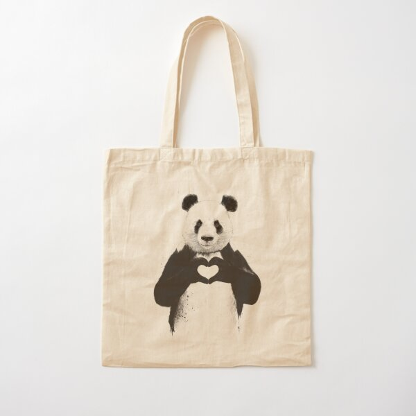 All you need is love Cotton Tote Bag