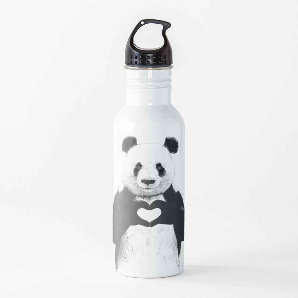 All you need is love Water Bottle