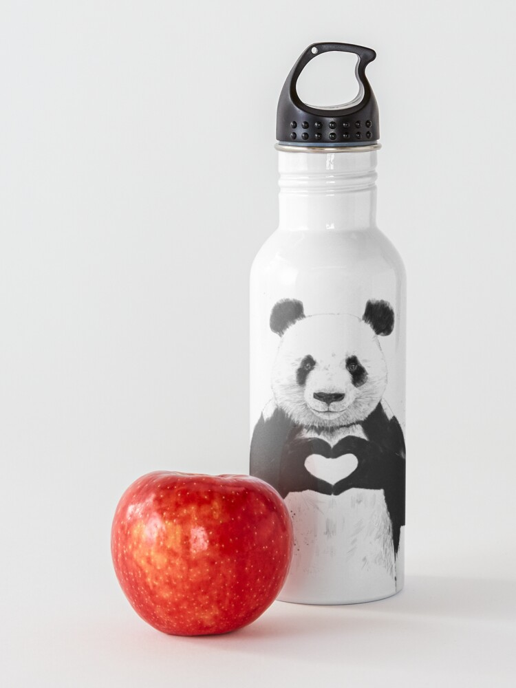 Alternate view of All you need is love Water Bottle