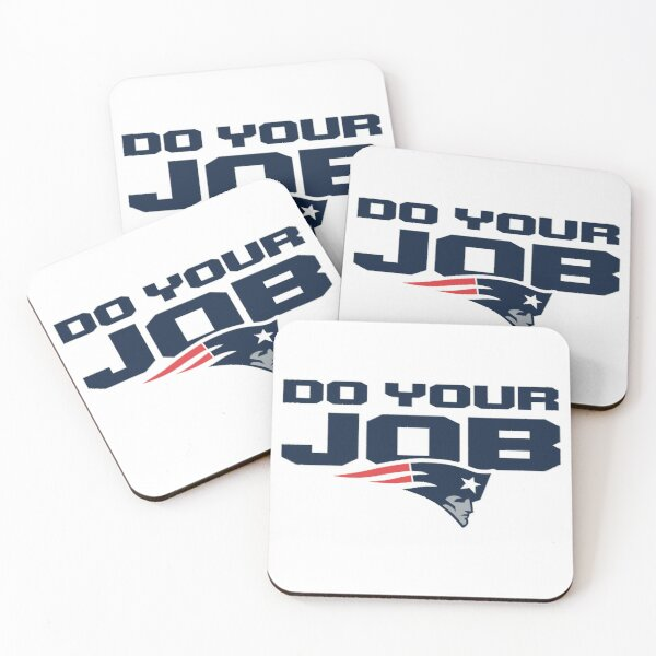 Do Your Job Coasters (Set of 4)