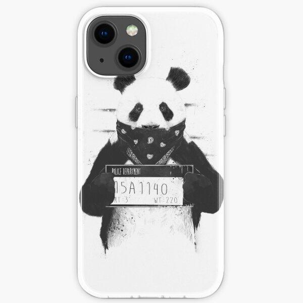 Bad panda iPhone Soft Case