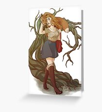 The Fox And The Banshee  Greeting Card