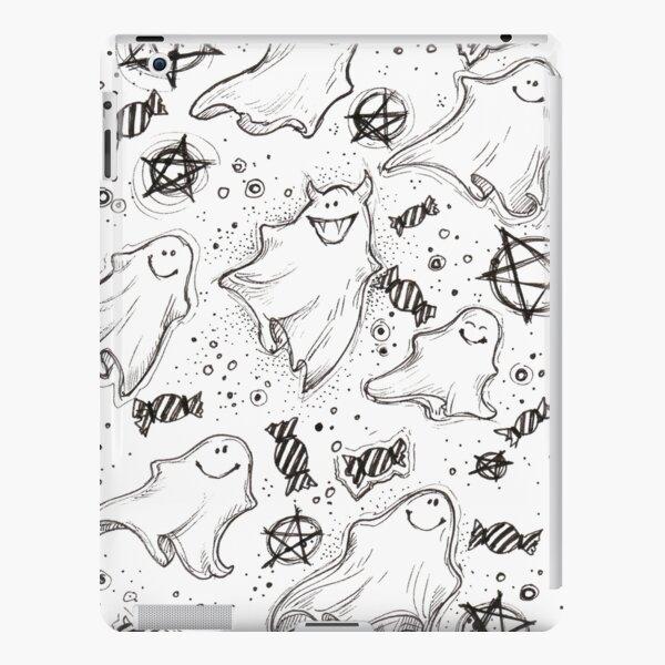 Cute Ghost iPad Snap Case