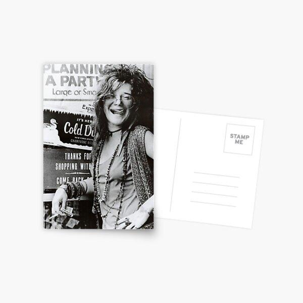 Janis Joplin Poster Postcard