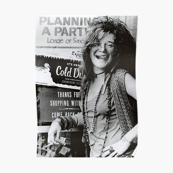Janis Joplin Poster Poster