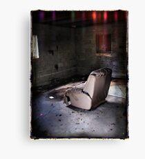 Living Room Recliner Canvas Print