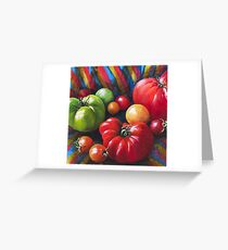 Tomatoes, Greeting Card