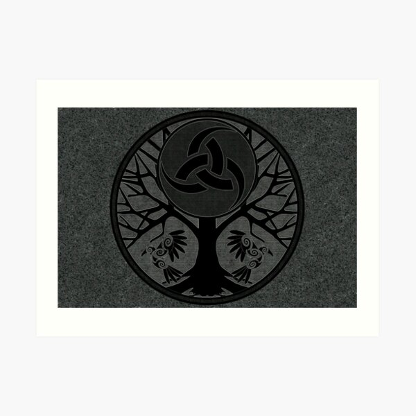 Triple Horn of Odin - The quest for Odhroerir Art Print