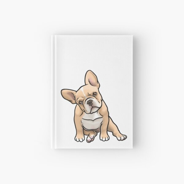 Frenchie Hardcover Journal