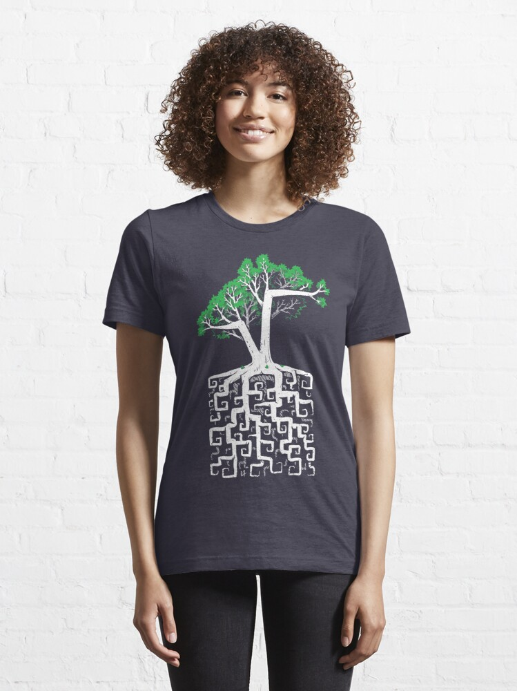 Alternate view of Square Root Essential T-Shirt