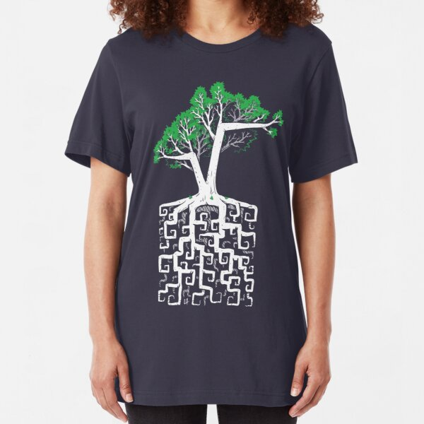 Square Root Slim Fit T-Shirt