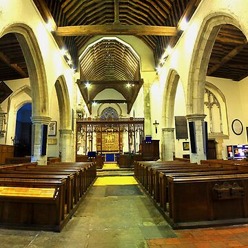 All Saints, Hollingbourne by RWTA