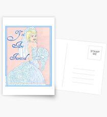 Wedding Cake Invitation Postcards