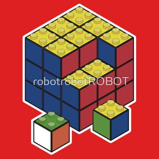 TShirtGifter presents: Lego Cube.