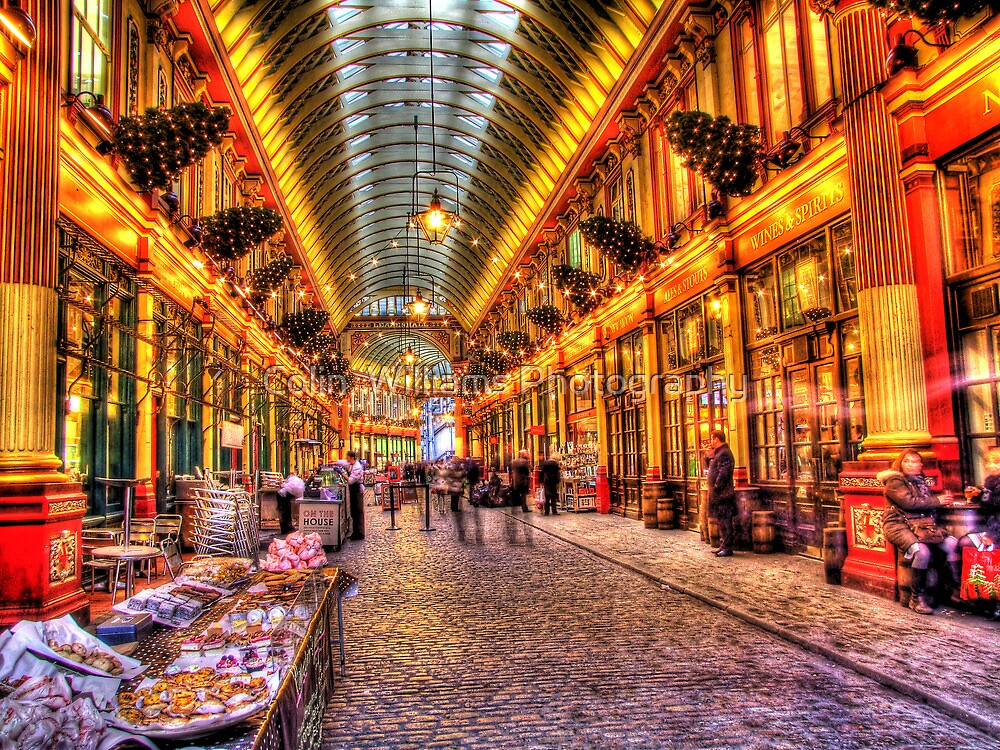 Cake Vendor  - Leadenhall Market Series -  London - HDR by Colin  Williams Photography