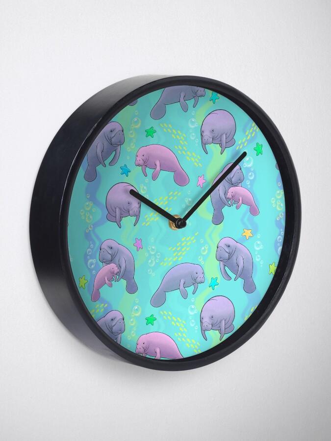 Vista alternativa de Reloj Manatee Jamboree
