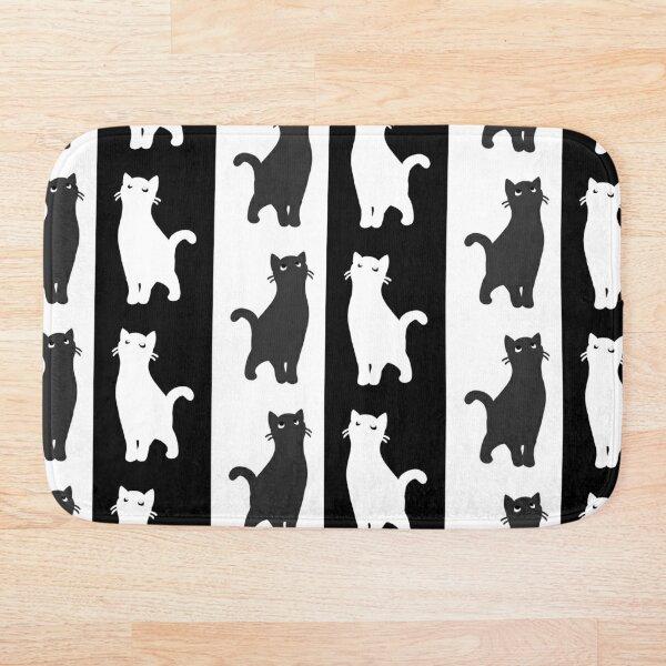 Inverted cats Bath Mat