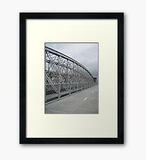 Indooroopilly Bridges II Framed Print