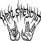 Hail Sheydim - Black Ink by hellomagpie