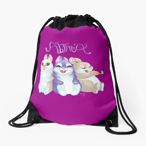 Happy Birthday Althea <3 Drawstring Bag