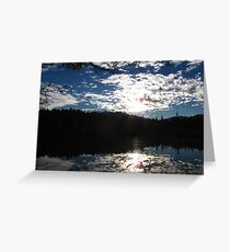 Double Sky - Outside Grants Pass, Oregon Greeting Card