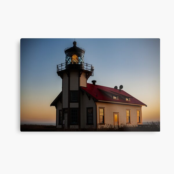 Point Cabrillo Lighthouse Metal Print