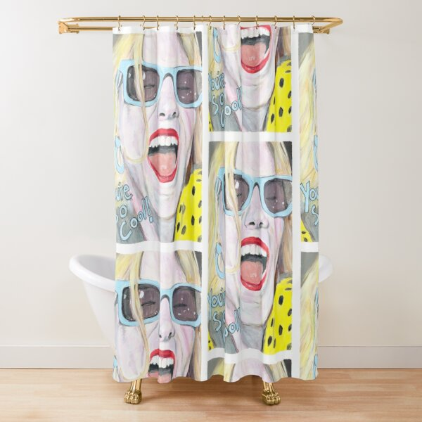 You're So Cool, True Romance, Alabama Painting Shower Curtain