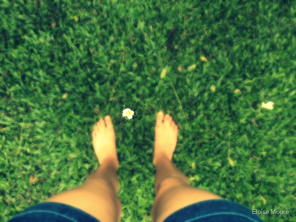 Edited Flower & feetss. by Eloise Moore