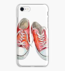 red keds iPhone Case/Skin