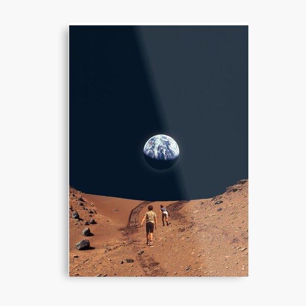 Earth Rise 3000AD Metal Print