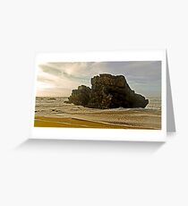 Adraga beach   -  2 Greeting Card