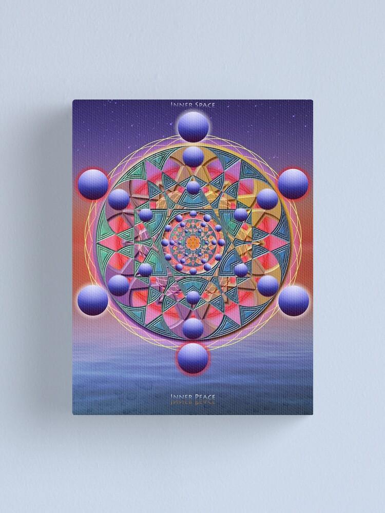 Alternate view of Inner Space Canvas Print