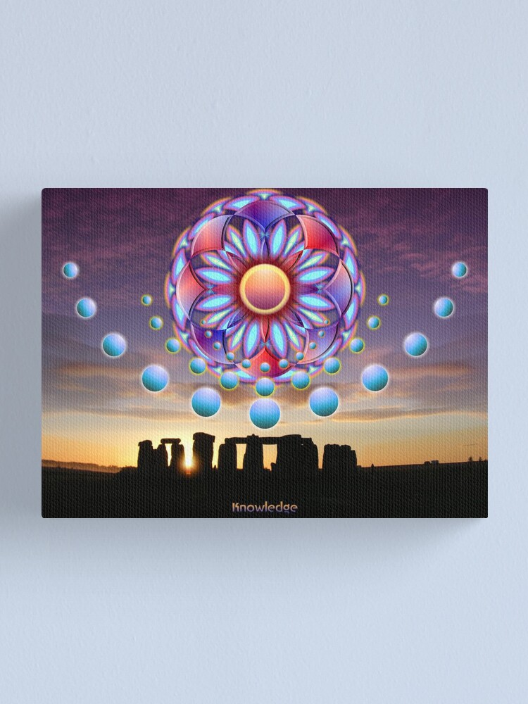 Alternate view of Knowledge Canvas Print