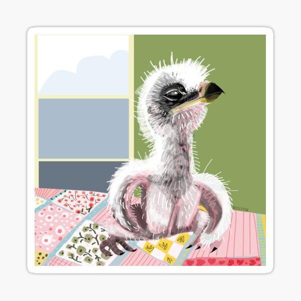 Bebé águila perdicera o Bonelli Pegatina