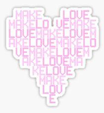 Daft Punk - Love Heart Sticker